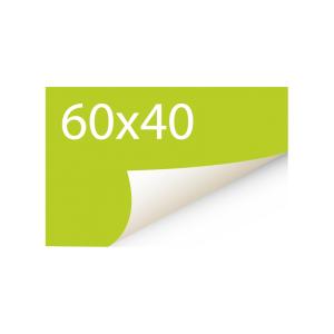 Sticker 60x40 mm - Papier