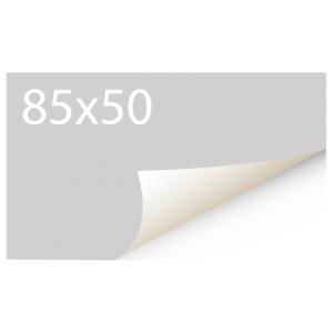 Sticker 85x50 mm - Synthetisch