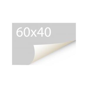 Sticker 60x40 mm - Synthetisch
