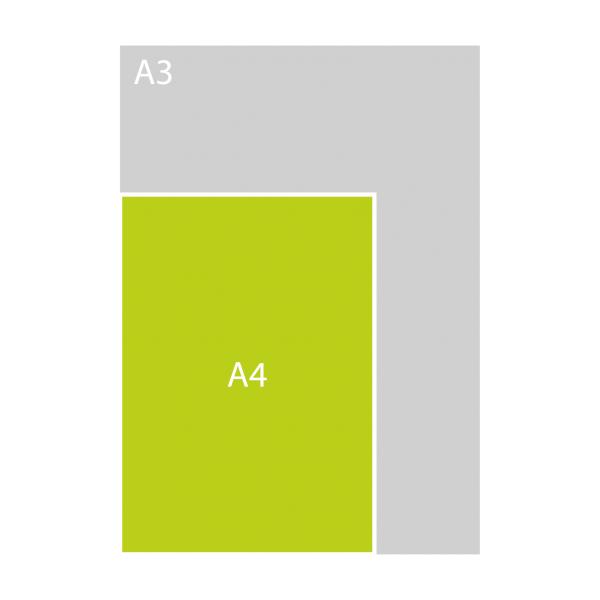 A4 enkel (P)